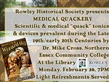 Historical Society Event