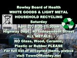 WHITE GOODS/LIGHT METAL  HOUSEHOLD RECYCLING