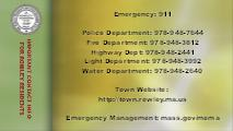 Important Contact Info for residents