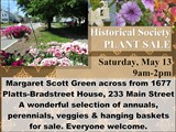 Margaret Scott Green across from 1677 Platts-Bradstreet House, 233 Main Street  A wonderful...
