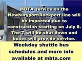 MBTA Service