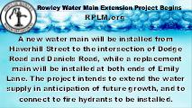 Water Deptartment Hours & Contact Info