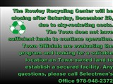 Rowley Recycling Center Closure