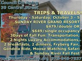 SundayRiverGondolacoa@townofrowley.org  978-948-7637; TRIPS & TRAVELS!; Council On Aging  39...